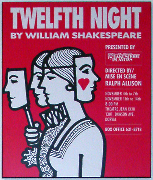 an analysis of the types of love in twelfth night a play by william shakespeare This overview provides some of the major themes in 'twelfth night in shakespeare's gender-bending play love relationships in twelfth night and.